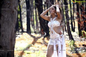 Neetu Chandra Hot in the Forest Photos