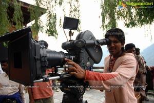 Allu Arjun on Sets