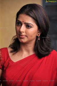 Bhumika In Red Saree