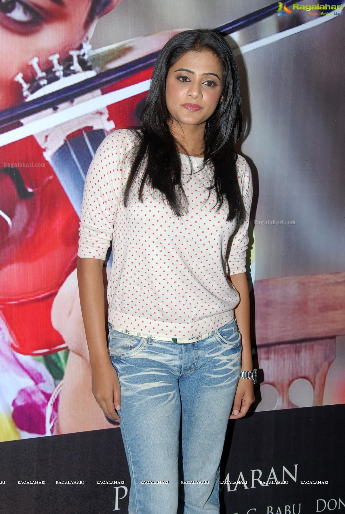 Priyamani in Jeans at Charulatha Press Meet, Photo Gallery
